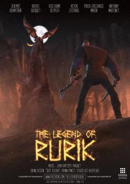 The legend of Rurik cortometraje cartel poster
