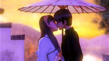 The Song of The Rain. Cortometraje de animación chino de Liang Zi