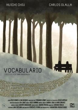 Vocabulario cortometraje cartel poster
