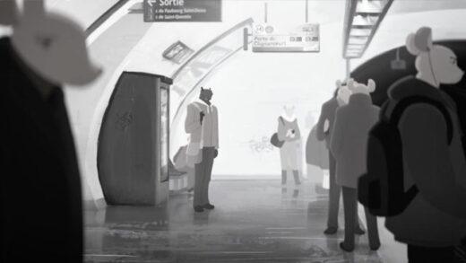 Vermin. Cortometraje de animación de Jérémie Becquer