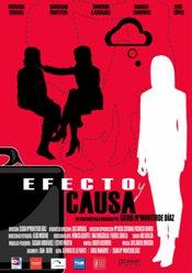 Efecto y causa corto cartel poster