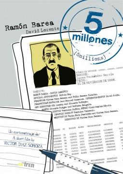 5 millones cortometraje cartel poster