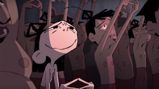 In Orbit. Cortometraje francés de animación de Isabela Littger De Pinho