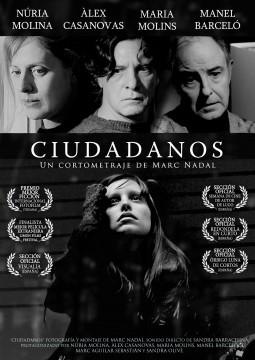 Ciudadanos cortometraje cartel poster