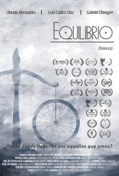Equilibrio cortometraje cartel poster