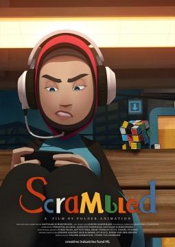 Scrambled cortometraje cartel poster