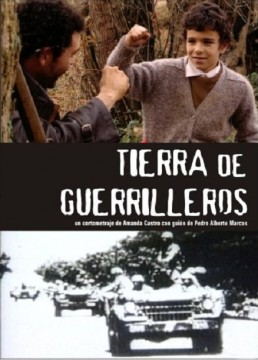 Tierra de guerrilleros cortometraje cartel poster