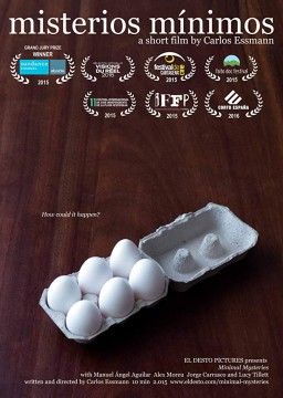 Misterios mínimos cortometraje cartel poster