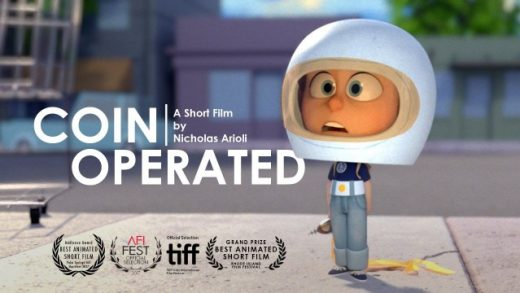 Coin Operated. Cortometraje de animación de Nicholas Arioli