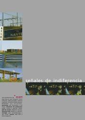 Señales de indiferencia corto cartel poster