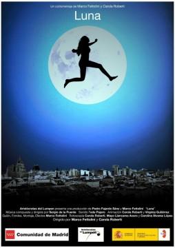 Luna cortometraje cartel poster