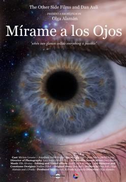 Mírame a los ojos cortometraje cartel poster