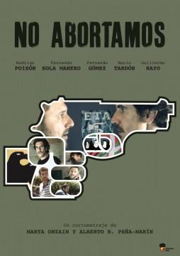 No abortamos cortometraje cartel poster
