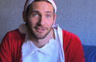 Pidiendo un deseo a Papá Noel