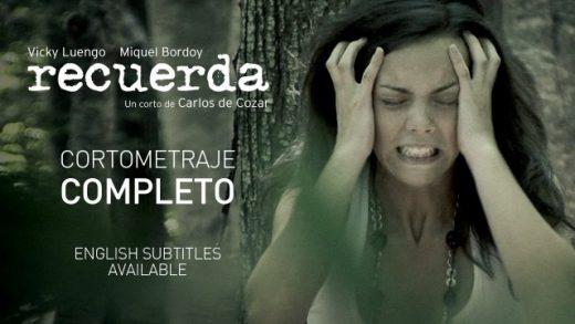 Recuerda. Cortometraje español y drama de Carlos de Cozar