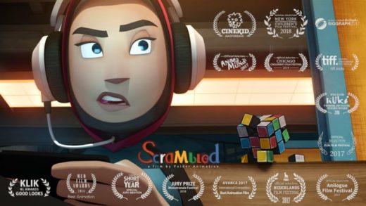 Scrambled. Cortometraje de animación de Bastiaan Schravendeel