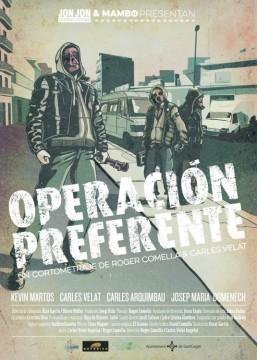 Operación preferente cortometraje cartel poster