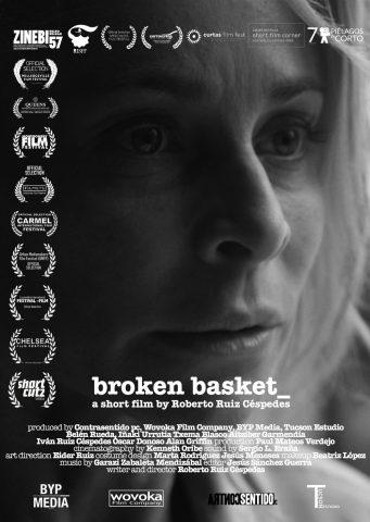 Broken Basket cortometraje cartel poster