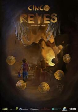 Cinco Reyes cortometraje cartel poster