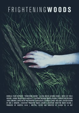 Frightening woods corto cartel poster