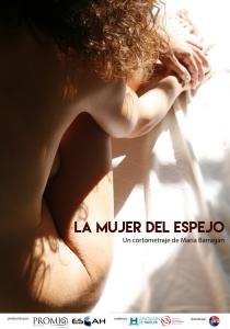 La mujer del espejo corto cartel poster