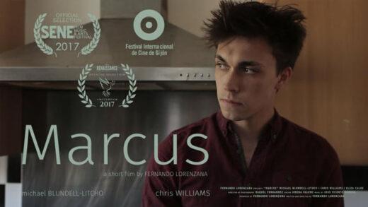 Marcus. Cortometraje y drama de Fernando Lorenzana