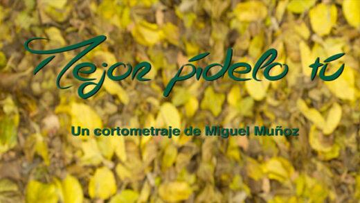 Mejor pídelo tú. Cortometraje y comedia española de Miguel Muñoz