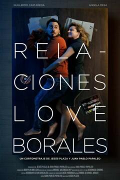 Relaciones Loveborales corto cartel poster