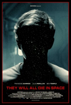 They Will All Die in Space corto cartel poster