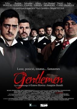 Gentlemen cortometraje cartel poster