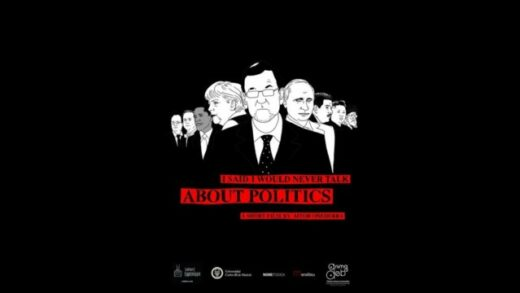 I Said I Would Never Talk About Politics. Cortometraje de Aitor Oñederra