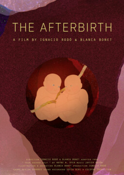 The afterbirth corto cartel poster