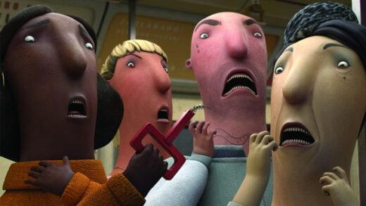Animals. Cortometraje danés de animación de Tue Sanggaard
