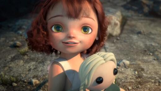 Anna. Cortometraje de animación de Alexia Rubod