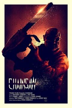 Chainsaw corto cartel poster