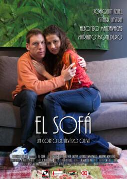 El sofa corto cartel poster