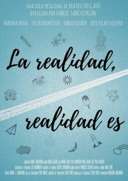 La realidad realidad es corto cartel poster