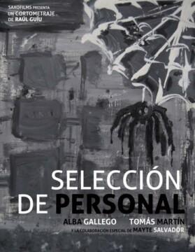 Selección de personal corto cartel poster