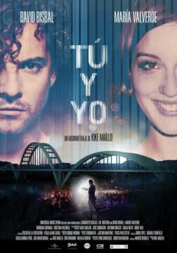 Tu y yo mediometraje cartel poster
