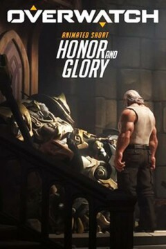 overwatch honor y gloria corto cartel poster