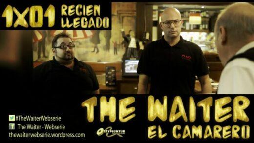 The Waiter (El camarero) 1x01. Recién llegado. Webserie española