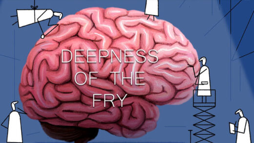 Deepness of the Fry. Cortometraje de animación de August Niclasen