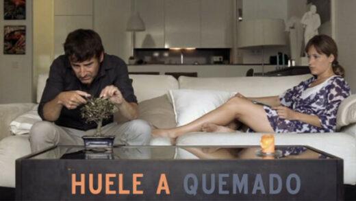 Huele a quemado. Cortometraje español y drama de Elías Espinosa