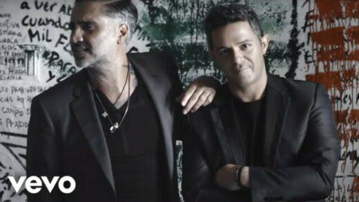A que no me dejas - Alejandro Sanz ft. Alejandro Fernández. Vídeoclip