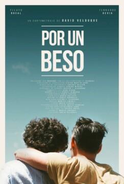 Por un beso corto cartel poster