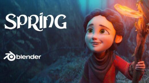 Spring. Cortometraje de animación de Blender Animation Studios
