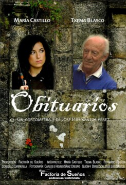 Obituarios corto cartel poster