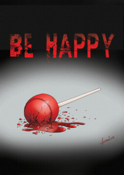 Be happy corto cartel poster