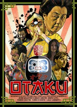 Otaku corto cartel poster