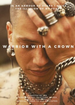 Warrior with a crown corto cartel poster